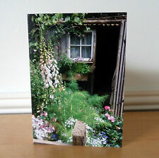 Blank Greetings Cards Flower White Foxgloves Birthday All Occasions Notecard
