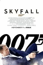 James Bond 007 Skyfall (2012) Movie Poster (24x36) - Daniel Craig NEW