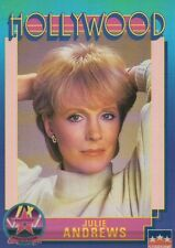 Julie Andrews, Actress, Hollywood Star, Walk of Fame Trading Card - NOT Postcard