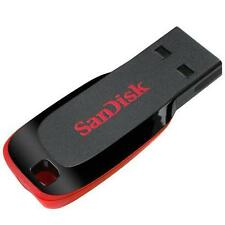 SANDISK CRUZER BLADE 32GB 32G 32 G GB USB FLASH DRIVE LIFE TIME WARRANTY NEW A