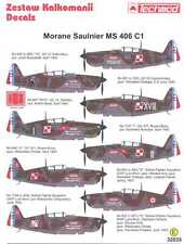 Techmod Decals 1/32 MORANE SAULNIER MS.406 C1 French Fighter w/Masks