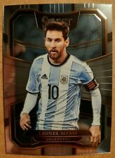 2017-18 PANINI SELECT SOCCER LIONEL MESSI BASE CARD  card# 76 Argentina