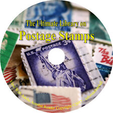 37 Books on CD – Ultimate Library on Postage Stamps, How to, Collecting, History