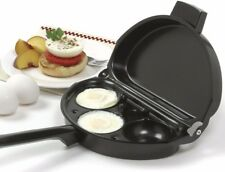 NORPRO 665 Deluxe Nonstick Egg Poacher/Omelet Pan with Lid