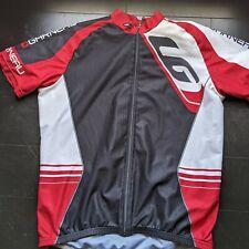 Road Cycling Jersey Summer, Men's Louie Garneau, Size L, Pre-owned