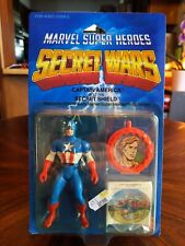 Marvel Super Heroes Secret Wars CAPTAIN AMERICA Mattel 1984 NEW Action Figure