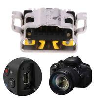 Mini 11Pin USB Socket Charging Interface Port Connector For Canon SLR Camera