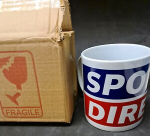 Sports Direct Large Ceramic Mug Brand New In Box Red White And Blue 20oz 1pint
