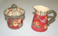 Vintage Creamer and Sugar Bowl Set, Tracy Porter, Octavia Hill Collection
