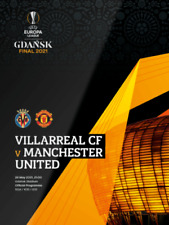 More details for man utd v villarreal uefa europa league final 2021 mint programme manchester
