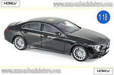 Mercedes-Benz CLS-Klasse 2018 Black NOREV - NO 183592 - Echelle 1/18