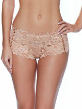 Lepel Womens Fiore Short 14 Nude Lace 972531