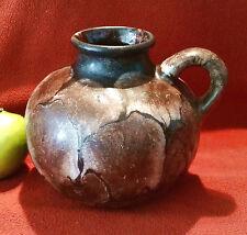 Aufwendig schön dekorierte Vase Ruscha ART 70er Jahre Form 318-1 Fat Lava