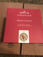 Hallmark 2019 Limited MAJESTIC CARDINAL Limited Edition New Ornament