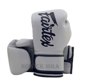 Fairtex Muay Thai boxing gloves BGV14 Black Red Blue White Gray 10 12 14 16 oz