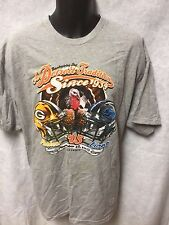 NFL 2013 THANKSGIVING DAY Game Detroit Lions Green Bay Packers NWT $30 Size XL