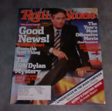 Rolling Stone Issue #960 October 28, 2004 Jon Stewart The Daily Show