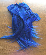 "Lot of 56 - 8"" D Blue Jane Collection 100% Human Hair TangleFree 1.75"" Width"