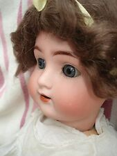 "ALT BECK & Gottschalk antique bisque doll grand original 26"" Chaussures"