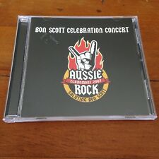 BON SCOTT CELEBRATION CONCERT 2007 CD Angry Anderson Rose Tattoo The Angels ++