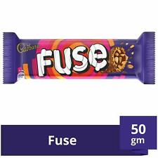 50 gm Each Fuse Chocolate Bar From Cadbury - Pack of 4 - Free Shipping Worldwide