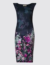 Marks and Spencer Polyester Regular Floral Dresses for Women