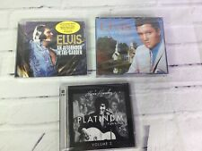 Elvis Presley A Touch Of Platinum A Life In Music Vol 2 & More Lot Of 3 Rare CDs