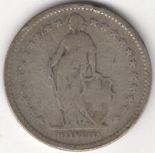 1894 A Switzerland Silver 2 Francs   European Coins   Pennies2Pounds