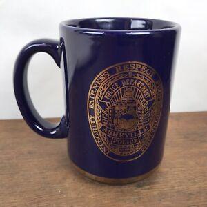 Asheville Police Department Large Souvenir Coffee Cup Mug HD32