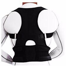 Adjustable Posture Corrector Back Support Magnetic Brace Shoulder Band Belt