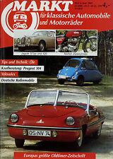 Markt 6/89 1989 Meyra Zündapp Janus Messerschmitt Tg 500 Velosolex Peugeot 504 C