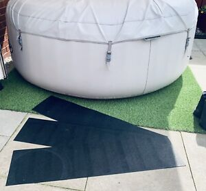 Ideal Lay z Spa Hot Tub Ground Protection Mats 3 Pack
