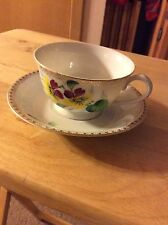 Merit Antique Tea Cup And Saucer, Made In Occupied Japan