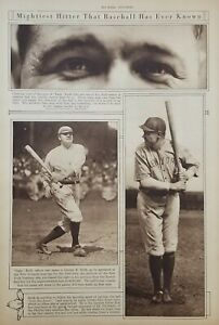 June 3, 1920 Babe Ruth Mid-Week Pictorial The New York Times Yankees Newspaper