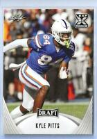 💥👀💥 2021 Leaf Draft #24 Kyle Pitts Rookie 💥👀💥 Florida Gators