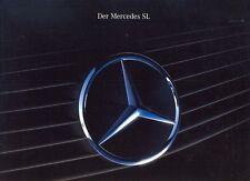 Mercedes-Benz R129 SL German language PRESTIGE sales brochure 1989