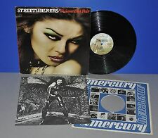 Steetwalkers Vicious but fair USA 77 Mercury 1st insert OIS VG + + VINILE LP Clean