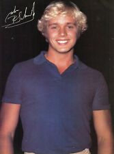JOHN SCHNEIDER PINUP CLIPPING CUTTING FROM A MAGAZINE 80'S DUKES OF HAZZARD