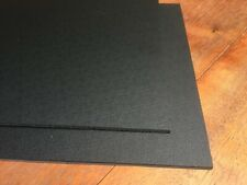 Hot Rod Custom  Black textured ABS Plastic Sheet 2 mm  610 x 457 mm