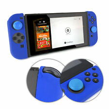 TUFF LUV Nintendo Switch Anti-slip Silicone protective Case (2 Parts) - Blue