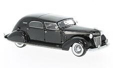 1:43 NEO 1937 Chrysler Imperial C-15 LeBaron Town Car black NEO46766