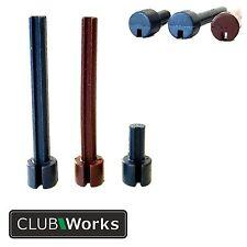 Rubber Tungsten 8 or 10 gram Tip Weights for graphite shafts - (swing weights)