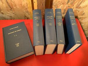 Charles De Gaulle - Mémoires De Guerre (5 tomes) Plon (1971) Sur Beau Papier