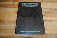 Livre WARHAMMER 40000 40K CHAPTER APPROBED Matériel de jeu (Version Française)