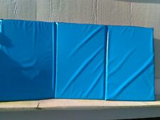 """Infection Control Rest Mats -1"""" Foam Thickness- 3 Section Folding Mats"""