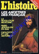 L'histoire n°86 - 02/1986 Gabriel Péri Cagliostro Mexique