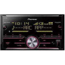 Pioneer MVH-X690BS Double DIN In-Dash Digital Media Car Stereo Recevier