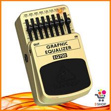 Pedaliera Behringer Eq700 per Chitarra elettrica Equalizzatore Grafico 7 Bande