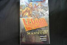 Legion of Super_heroes Enemy Manifest  HardCover Graphic Novel (b3)