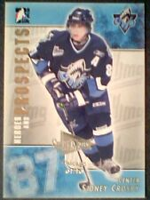 SIDNEY CROSBY  04/05 AUTHENTIC SPORTSFEST EXPO PRE-ROOKIE UPDATE CARD /10  SP